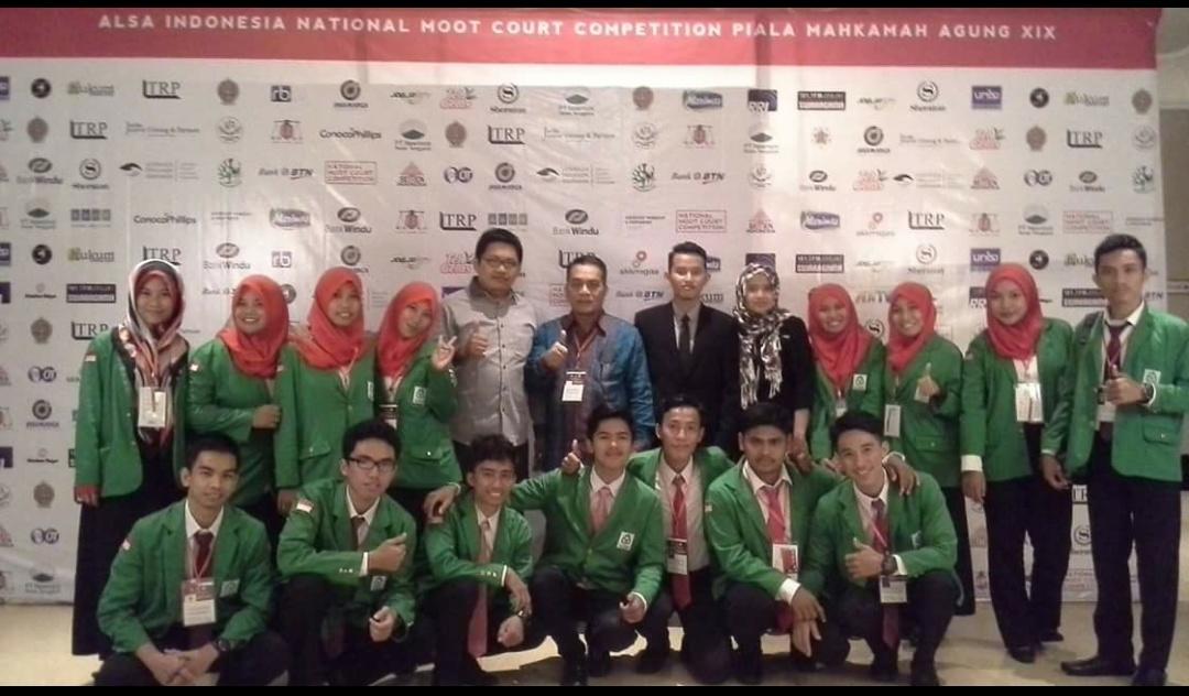 Kompetisi Peradilan Semu Piala Mahkamah Agung 2016